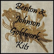 Benton & Johnson Goldwork kits/Toye Kenning Spencer